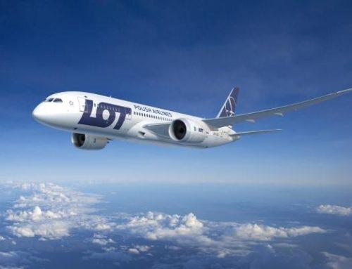 LOT планирует открыть полеты из Варшавы в города Украины
