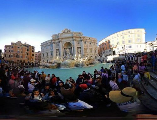 Туристы набросали в римский фонтан Треви монет почти на 1,5 миллиона евро